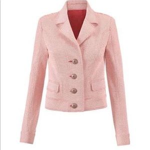 CAbi Pink Amelia Jacket
